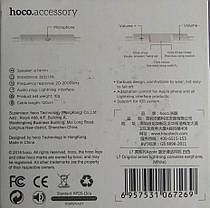 """Навушники Hoco L7 для iPhone 7"""" white, фото 2"""