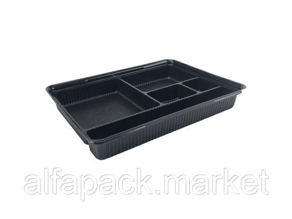 ПС-610ДЧ+ПС61К Блистерная упаковка для суши, 278*195*40 (180 шт в ящике) 010100137