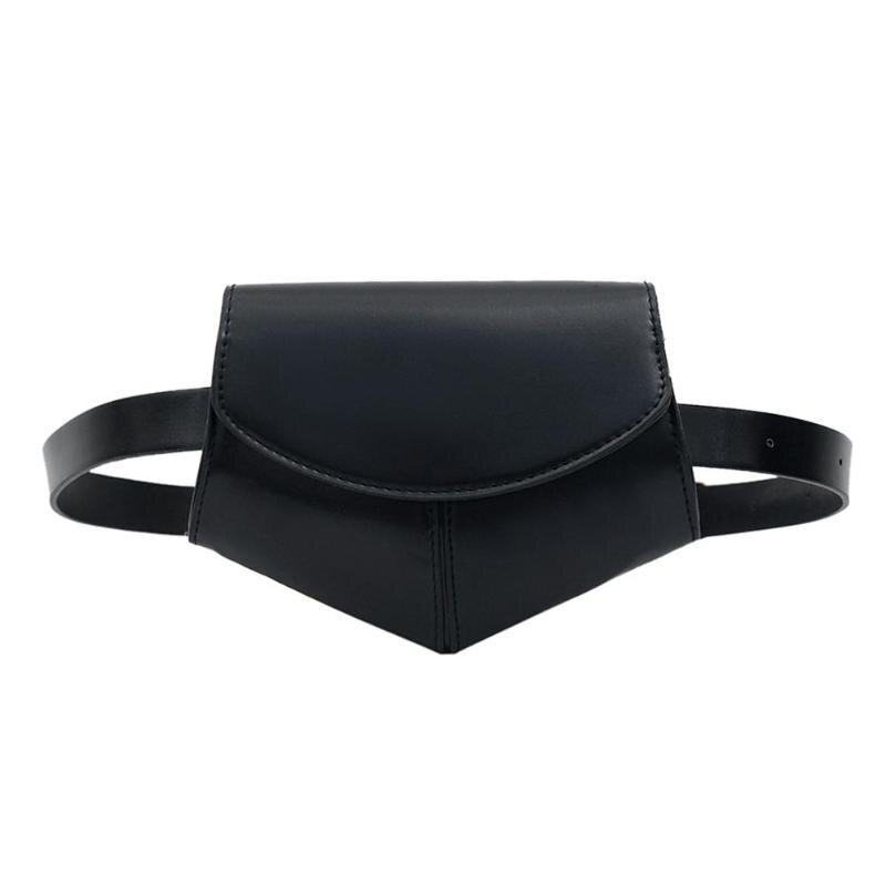 Модна жіноча сумка на пояс - Чорна