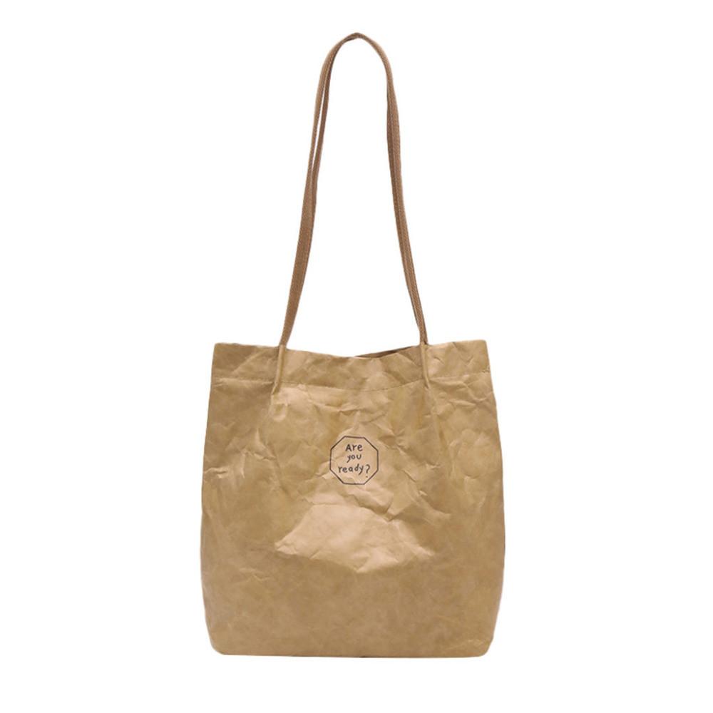 Эко сумка шоппер из бумаги