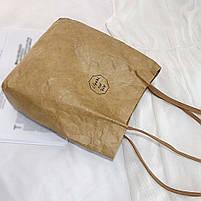 Эко сумка шоппер из бумаги, фото 5
