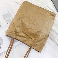 Эко сумка шоппер из бумаги, фото 7