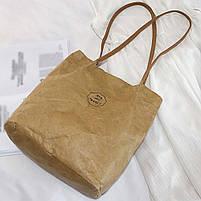 Эко сумка шоппер из бумаги, фото 6