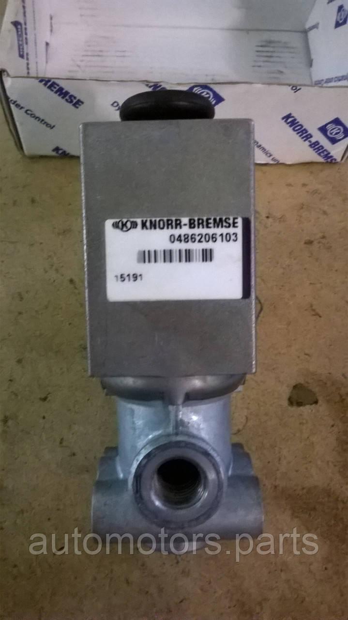 Электромагнитный клапан 0486206103 Knorr-Bremse