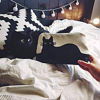 Косметичка дорожная женская Lovely Черная кошка