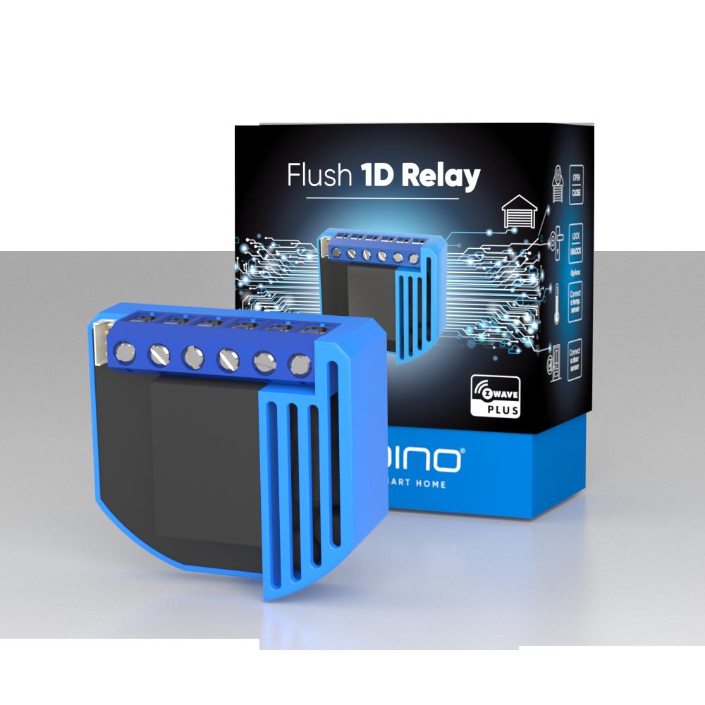 Вставное реле Z-Wave Qubino Flush 1D Relay — GOAEZMNHND1