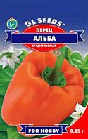 Семена перец Сладкий Альба масса150-200 г, 6-7 мм.