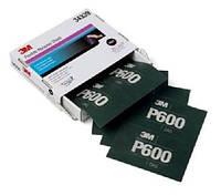 3М™34339 - Гибкий полировальный абразивный лист  Hookit™, 140x171 мм, P600, ШЛИФОВКА ГРУНТА