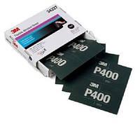 3М™34337 - Гибкий полировальный абразивный лист  Hookit™, 140x171 мм, P400, ШЛИФОВКА ГРУНТА