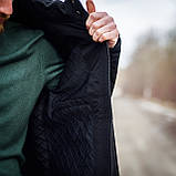 Чоловіча демісезонна куртка, чорного кольору, фото 6