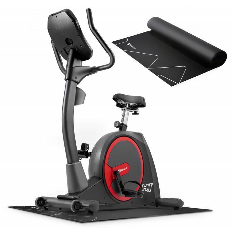 Велотренажер электромагнитный Hop-Sport HS-300H Aspect с телеметрическим поясом + мат под тренажер