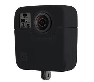 Силиконовый чехол на GoPro Fusion от PULUZ (черный цвет)