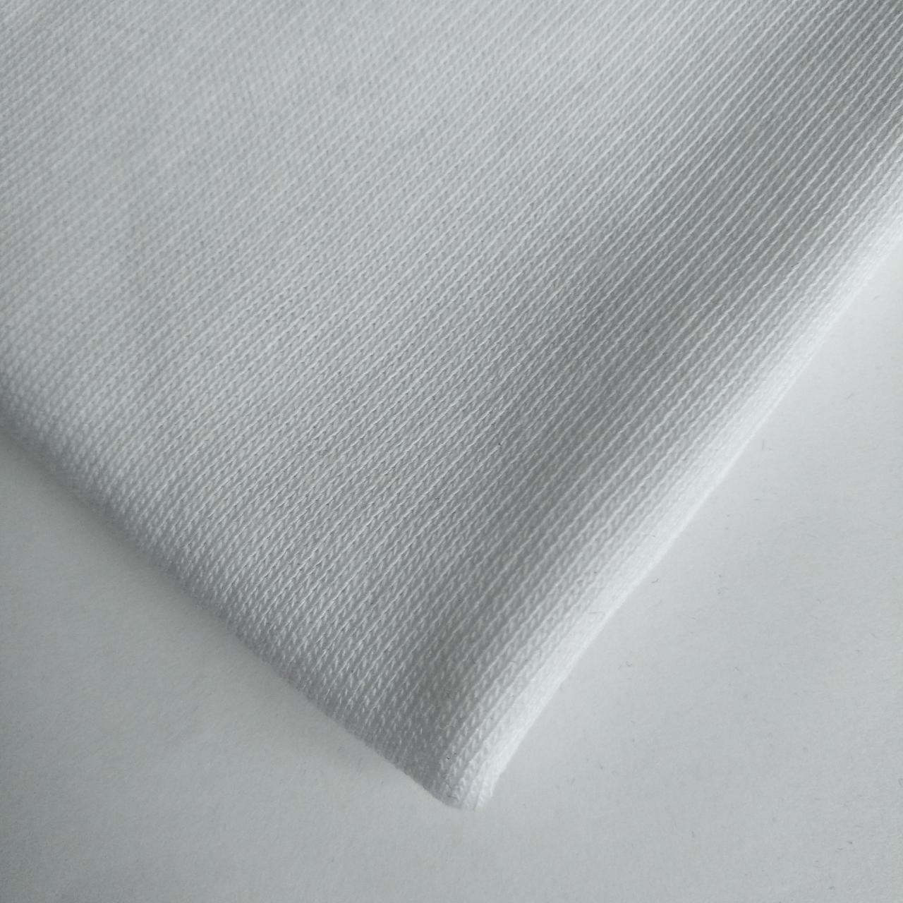 Трехнитка с начесом Белая, плотность 320 г/м2