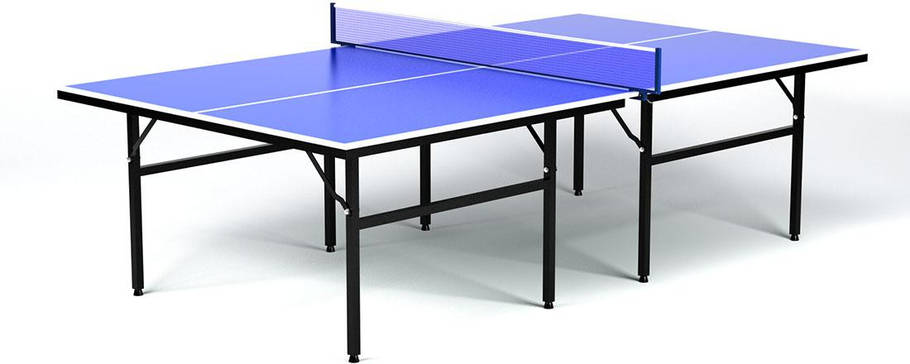 Стол для настольного тенниса HOP-SPORT, прочная конструкция, фото 2
