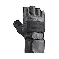 Мужские перчатки для фитнеса Spokey Guanto II 921331 (original), спортивные атлетические тренировочные, фото 1