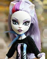Кукла Monster High Катрин Де Мяу (Catrine DeMew ) Новый Скарместр Монстер Хай Школа монстров