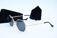 Солнцезащитные очки  Rb 3556 золото с черным
