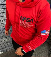 Кофта с капюшоном, Толстовка, Демисезонный Свитшот NASA! Худи мужской (НАСА)