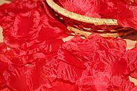 Лепестки роз искусственные  КРАСНЫЕ, фото 1
