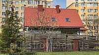 Металлочерепица Ретро 0,45мм глянцевый полиэстр Украина, фото 9