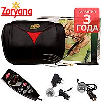 Нефритова роликова масажна подушка Nefrimed Zoryana для спини нефритова шиацу