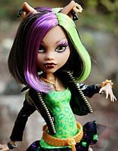 Кукла Monster High Клодин Вульф (Clawdeen Wolf) Новый Скарместр Монстер Хай Школа монстров