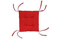 Подушка на стул DOTINEM COLOR красная 40х40 см (213109-4)