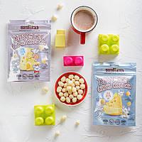 Хрустящие сырные шарики для детей возрастом от 3х лет, 28 г (розовая упаковка), фото 1