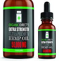 Organic direct's extra strength ultra premium Hemp Oil 50000 mg 30 ml
