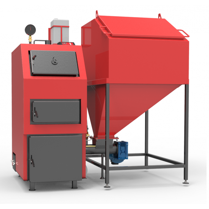 Твердотопливный пеллетный котел РЕТРА-4М 98 кВт длительного горения