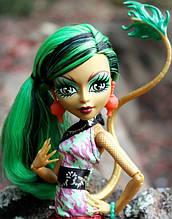 Кукла Monster High Джинафаер Лонг (Jinafire Long) Новый Скарместр Монстер Хай Школа монстров