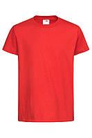 Футболка детская красная с круглым вырезом Stedman - SRECT2200