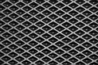 EVA материал для автоковриков (ЭВА листы) 2000*1200 мм черный Eva-Line ромб