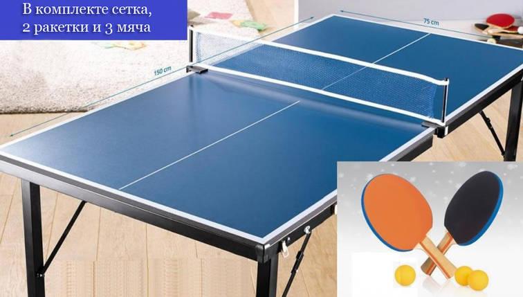 Настольный теннис (мини) сетка в комплекте, фото 2