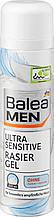 Гель для бритья  Balea Мen ultra sensitive 200 мл