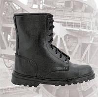 """Ботинки берцы утепленные кожаные """"Трек"""""""