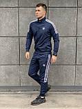 Мужской лето/осень спортивный костюм adidas Турция, фото 3