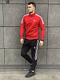 Мужской лето/осень спортивный костюм adidas Турция, фото 5