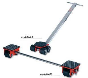 Візки для важкого промислового обладнання F3, L3 GKS-Perfekt