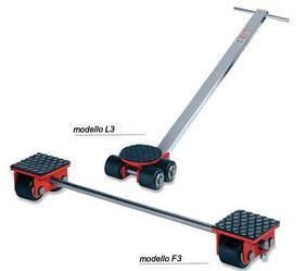 Тележки для тяжёлого промышленного оборудования F3, L3 GKS-Perfekt