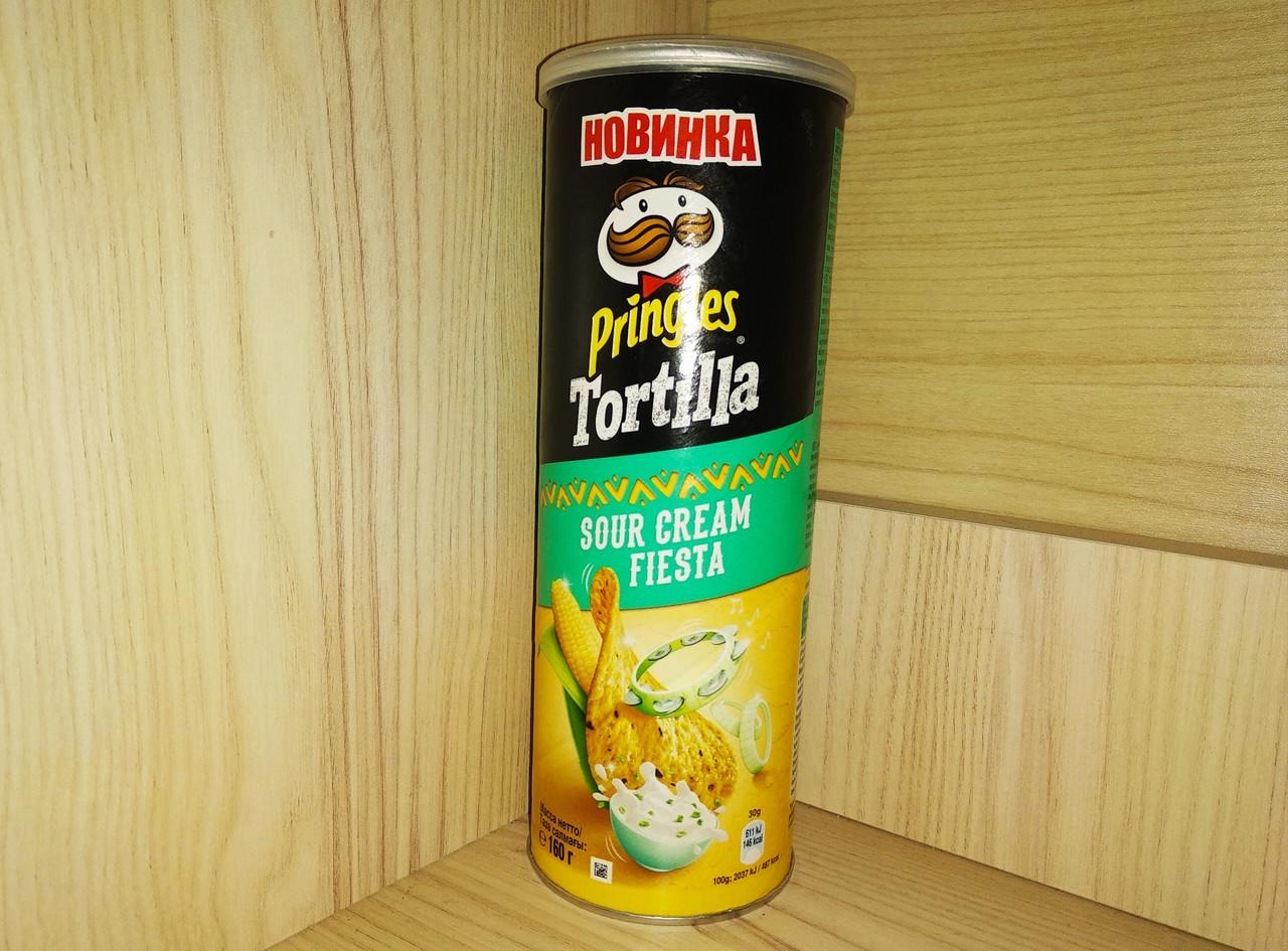 Кукурузні чіпси Pringles 160 гр.