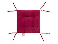 Подушка на стул DOTINEM COLOR лиловая 40х40 см (213109-8)