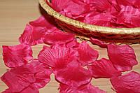 Лепестки роз искусственные  Насыщенно РОЗОВЫЕ