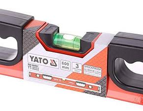 Уровень алюминиевый YАТО YT-3022 60 см, фото 2