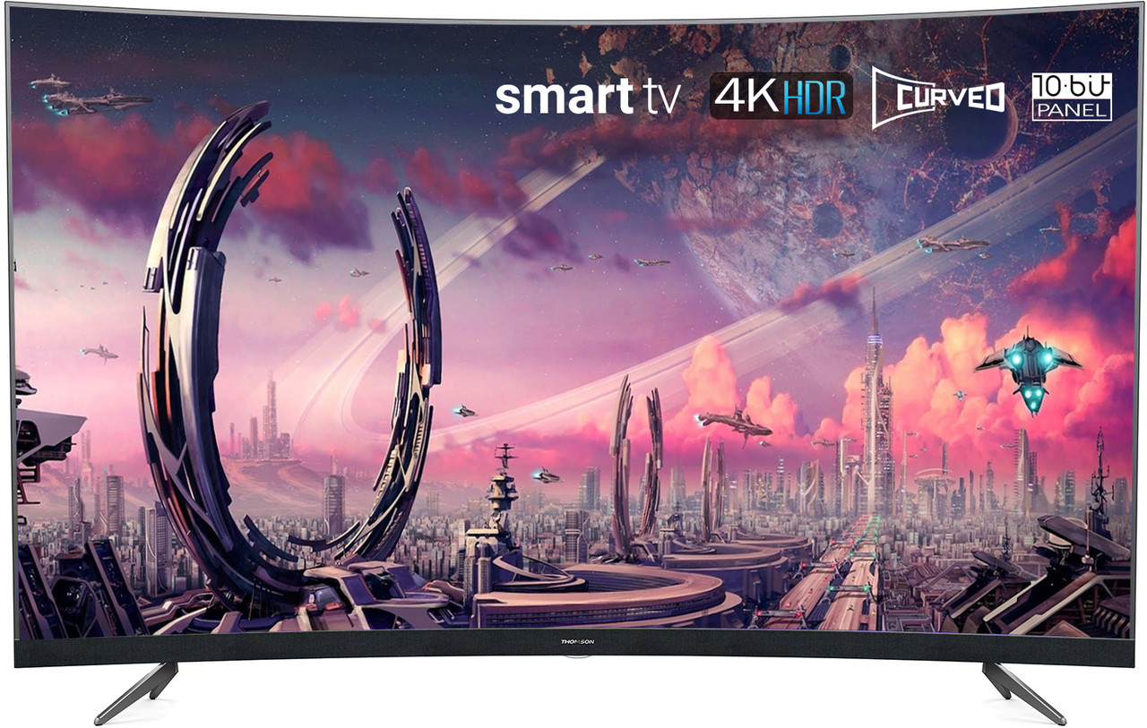 Изогнутый Телевизор Thomson 49UD6696 (49 дюймов / Smart TV / Ultra HD / dolby digital plus / 4К)