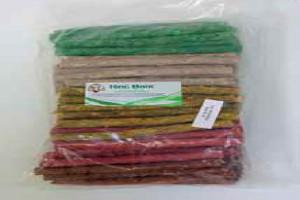 """Лакомство для собак """"Палочки MIX"""", цветные , 13см, 50шт/уп (цена за упаков.)"""