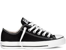 Кеды Converse All Star низкие черно-белые (Конверсы) мужские и женские