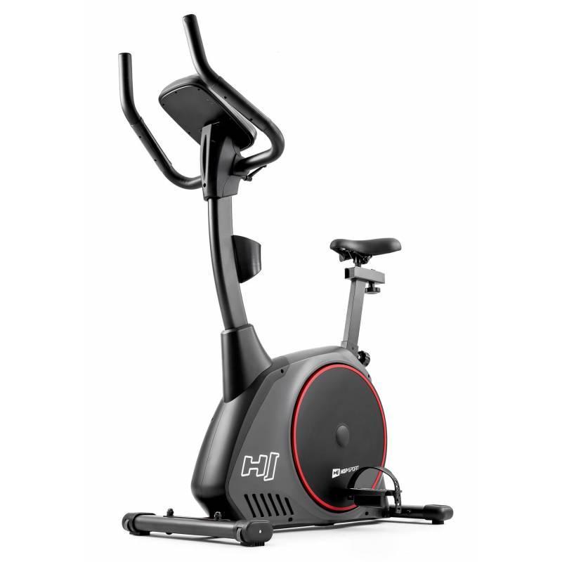 Велотренажер электромагнитный Hop-Sport HS-095H Strike серый+ мат для дома и спортзала