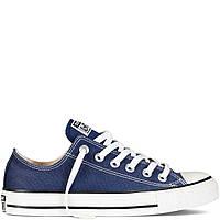 Кеди Converse All Star Blue (Кеди Конверс низькі сині жіночі і чоловічі розміри 36-44), фото 1