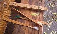 Бамбуковая зубная щетка, фото 1